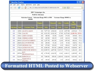 Convert iSeries Reports to HTML