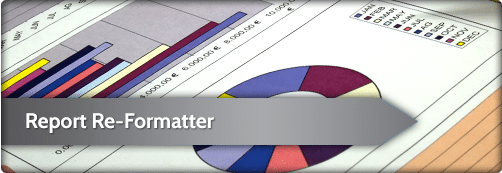 report re-formatter software for IBM i, iSeries and AS400 | ReportFlex