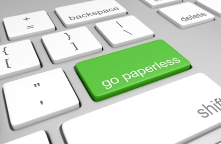 Go-paperless-key-on-a-computer-keyboard-000069451523_Large