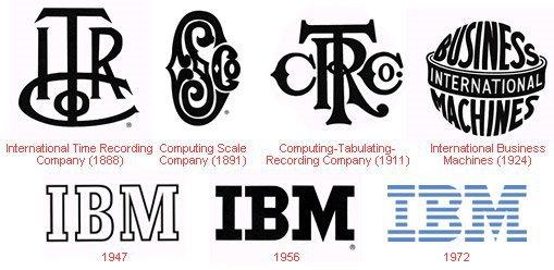 brand evolution ibm