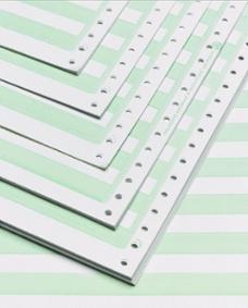Green bar paper