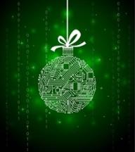 Techy Christmas Ball